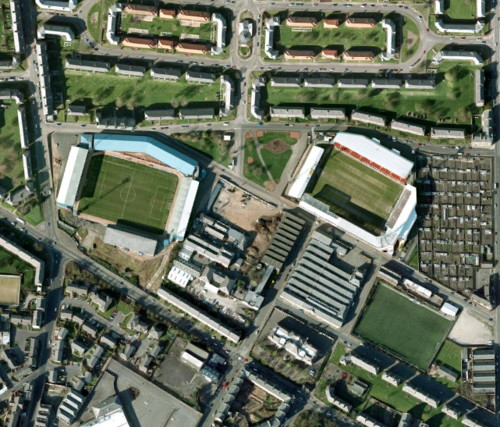 Dundee, Two Closest Stadiums