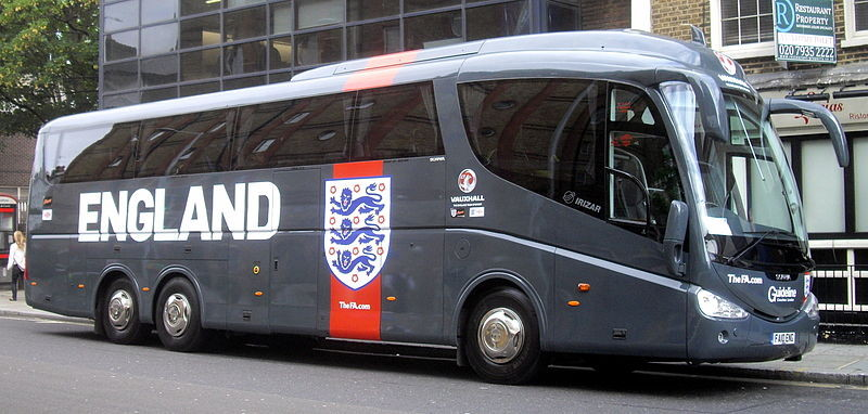england football bus
