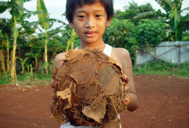 Old Battered Football