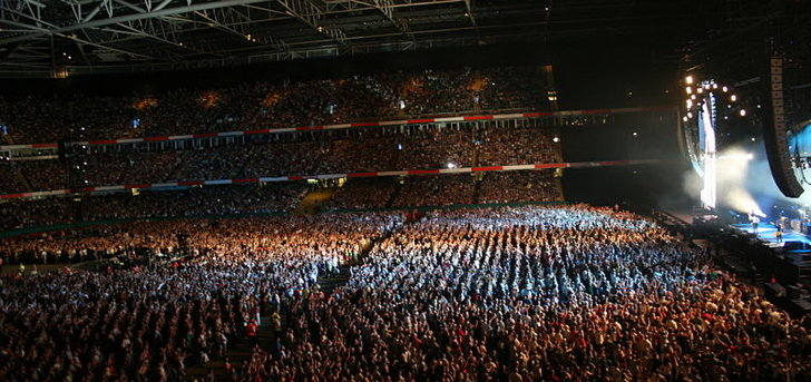 Concert - The Millenium Stadium