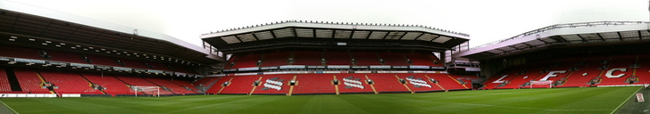 Side Stand View at Anfield
