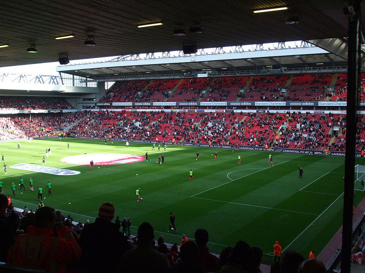 Image result for anfield reds lounge wing seat view