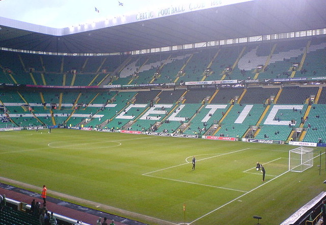 View Of Celtic Park From Stands