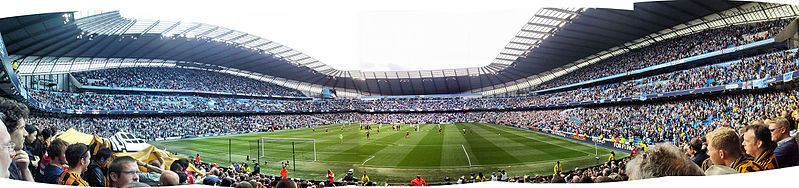 Etihad end stand view
