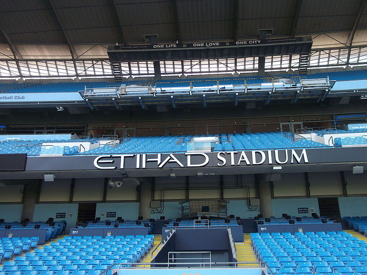 Hospitality - The Etihad Stadium