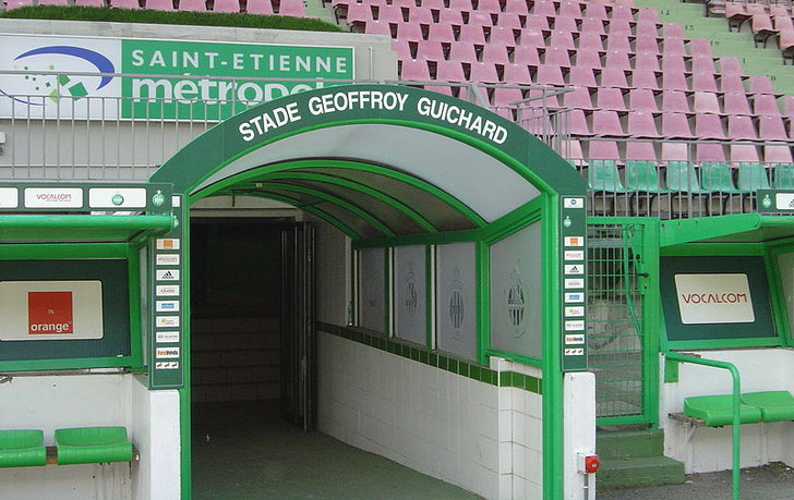 as saint tienne stade geoffroy guichard stadium guide french grounds football. Black Bedroom Furniture Sets. Home Design Ideas