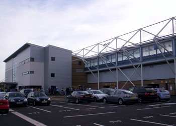 Shrewsbury Town Stadium (Greenhous Meadow)