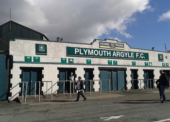 Plymouth Argyle Stadium Home Park