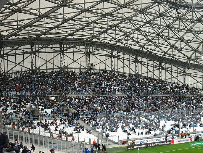 Olympique De Marseille Stade Velodrome Stadium Guide French Grounds Football Stadiums Co Uk
