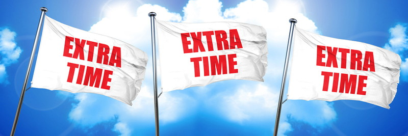 extra time flags
