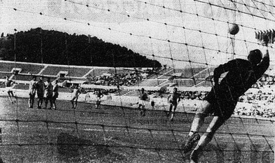 1962 Coppa Italia Final - AC Napoli v SPAL direct free kick