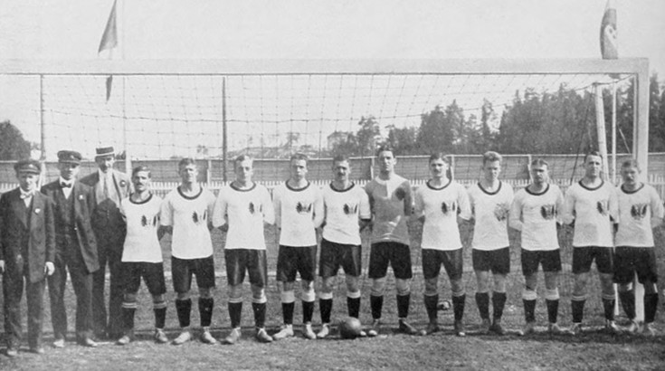Austrian National Team at the 1912 Summer Olympics