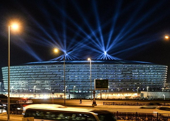 Azerbaijan / Qarabag Stadium (Baku National Stadium)