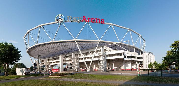 Bayer Leverkusen Bayarena Stadium Guide German Grounds Football Stadiums Co Uk