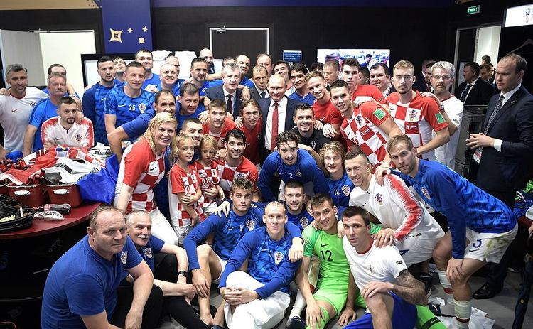 Croatia National Team World Cup 2018