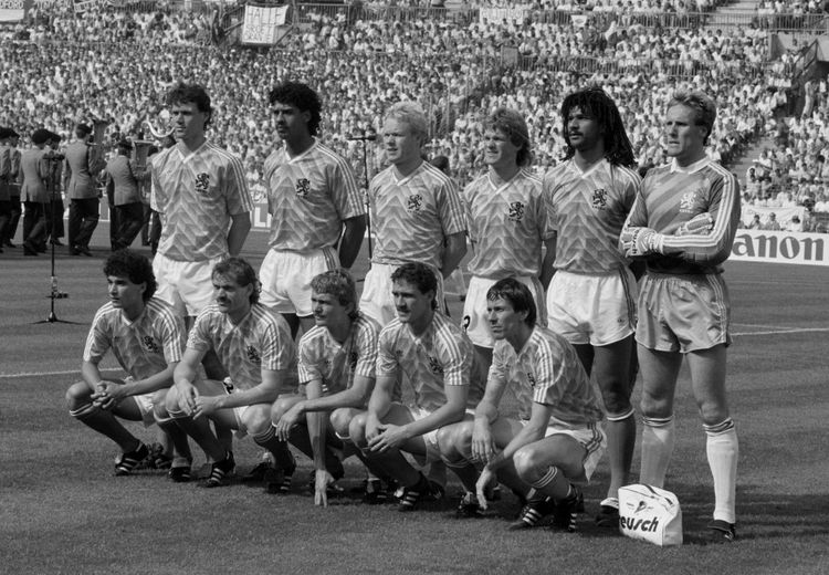 Dutch National Team vs West Germany