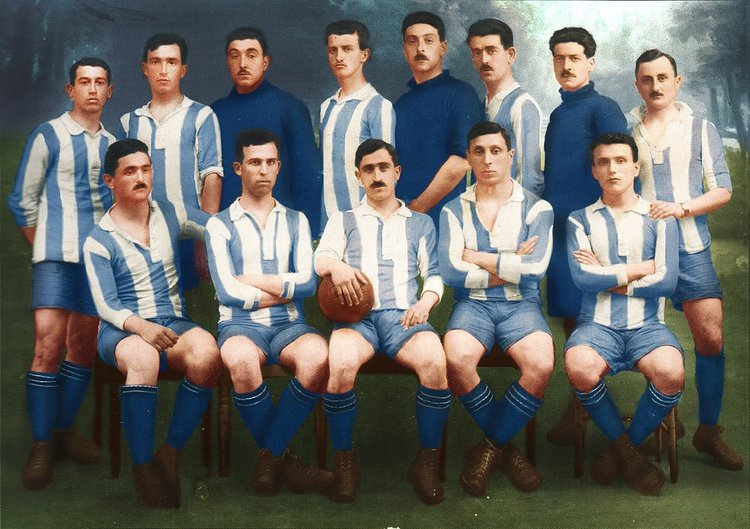 Greece National Football Team 1919