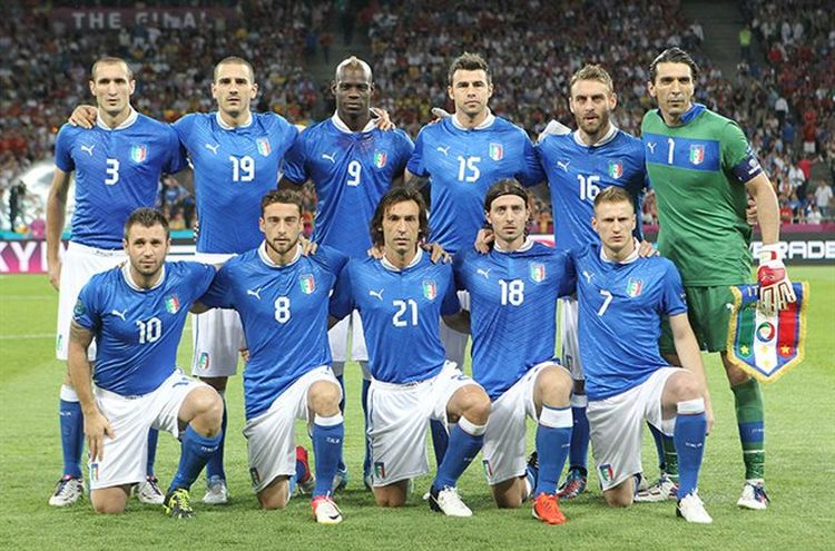 Italy National Team 2012