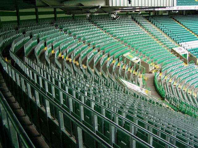 Standing at Celtic Park