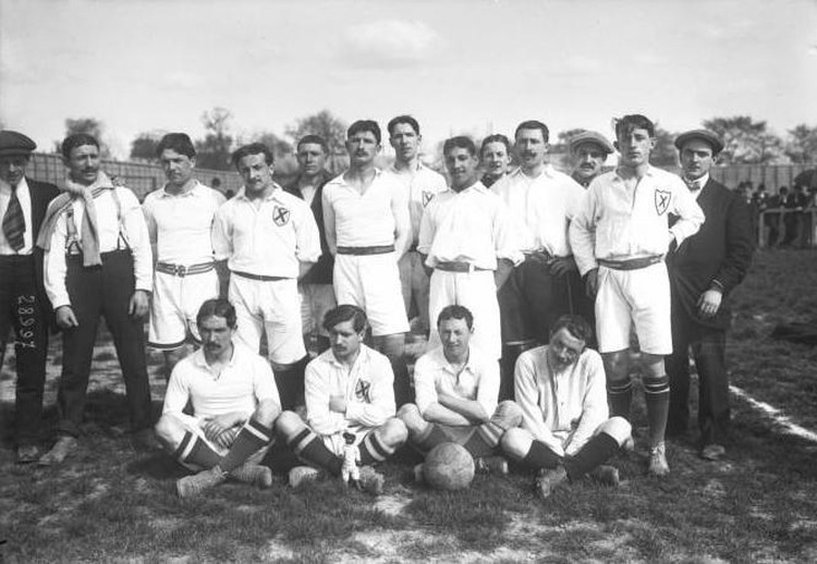 1913 Footabll Bordeux