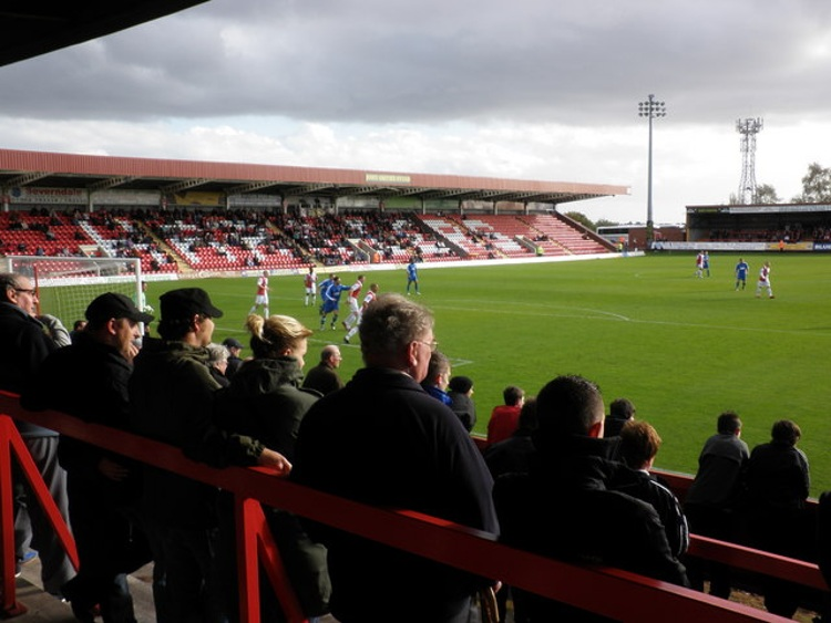 Aggborough Stadium Kidderminster Harriers