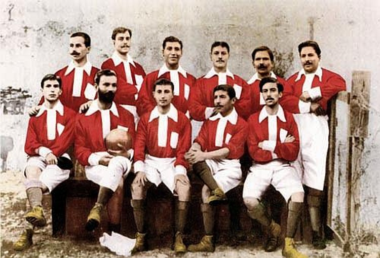 First Benfica Team 1904