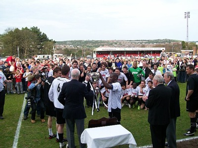 Dover win the Isthmian League Trophy