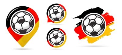 Germany Football Icons
