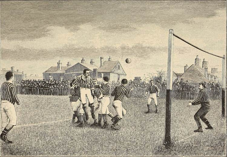 Old School Football Match
