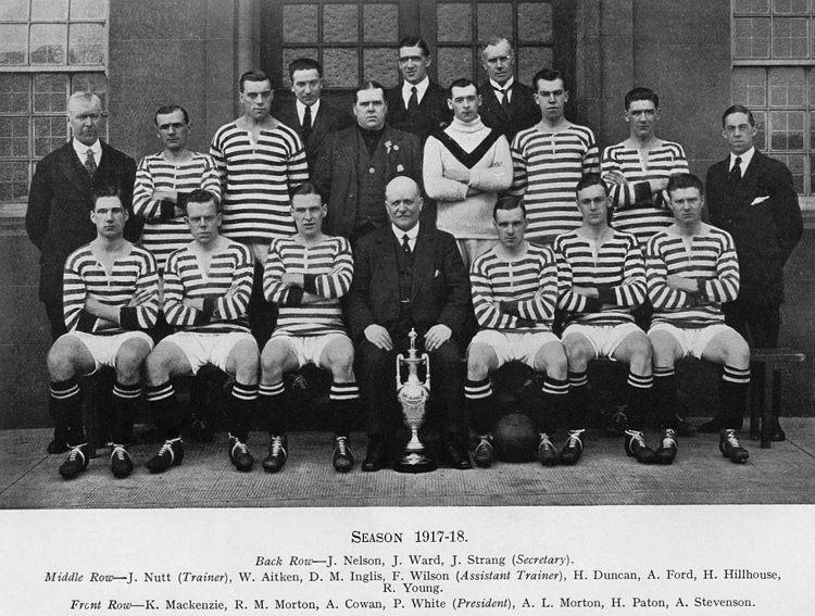 Queens Park Squad 1918