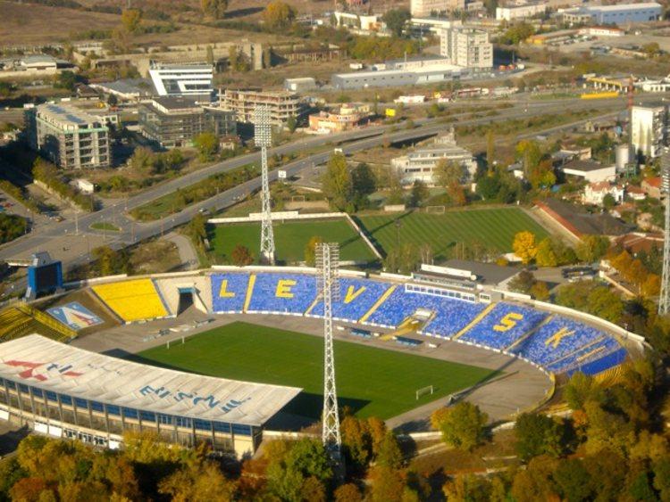 Georgi Asparuhov Stadium Levski Sofia FC