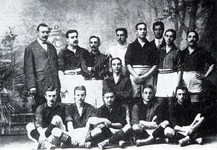 Barcelona Copa del Ray Winning Team 1910
