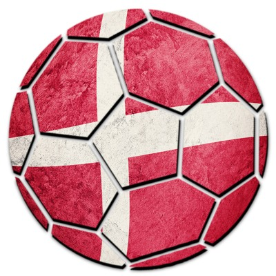 Denmark Football Flag