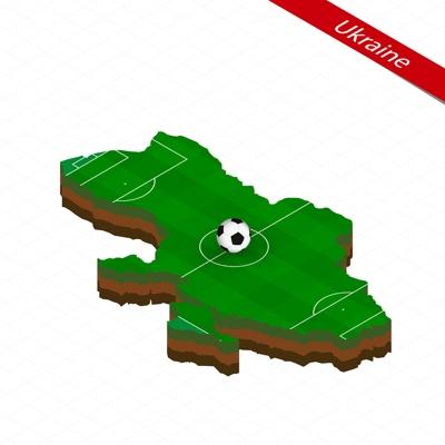 Ukraine Football Pitch Map