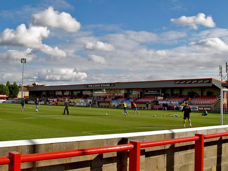 Dagenham and redbridge Victoria Road Stadium