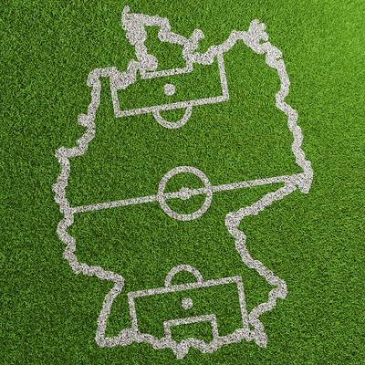 Germany Football Map