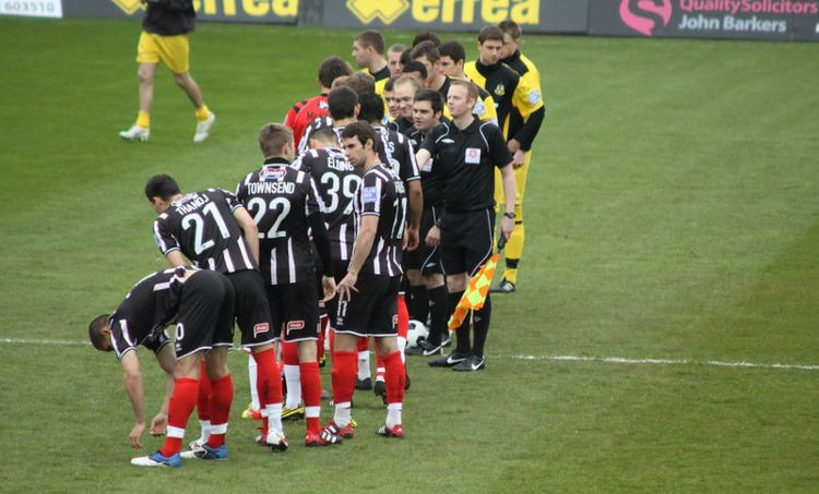 Grimsby Town vs Southport