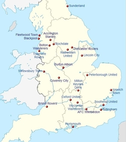 League One Map