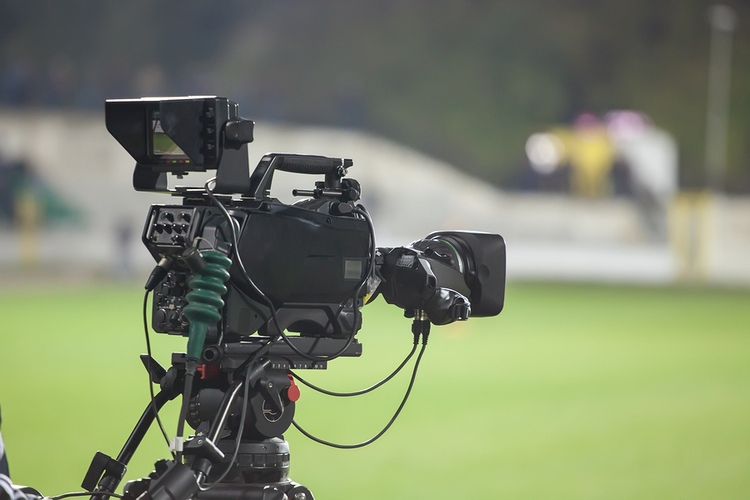 TV Camera Football Stadium
