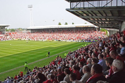 Wrexham A.F.C Stadium (Racecourse Ground)