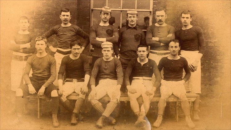 Wales National Football Team 1887