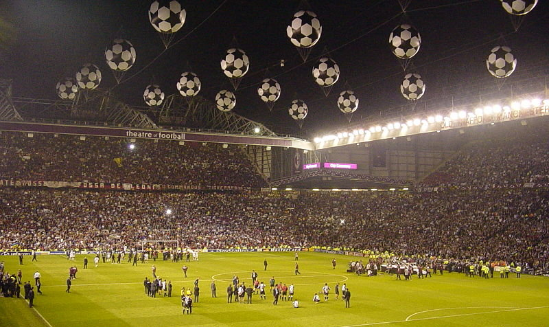 Old Trafford 2003 UEFA Champions League Final