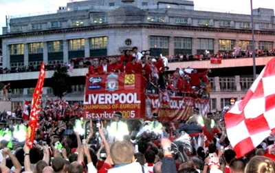 Liverpool 2005 Champions League parade