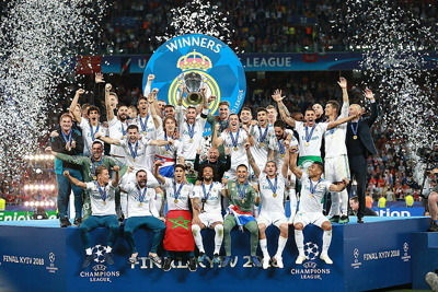 Real Madrid Winner Of The Champions League in 2018
