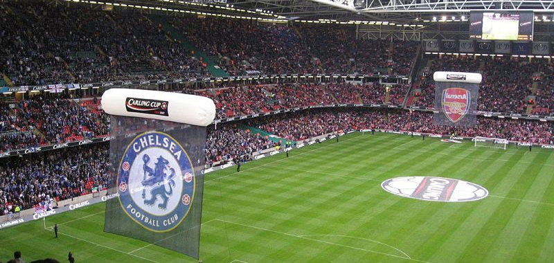 Carling Cup Final 2007, Chelsea Vs Arsenal at the Millenium Stadium