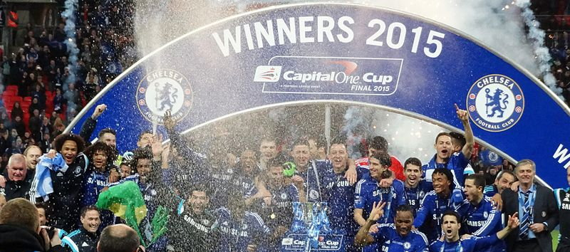 Chelsea, 2015 Capital One Cup winners