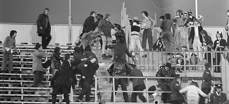 1974 crowd trouble in Tottenham v Feyenoord UEFA cup final