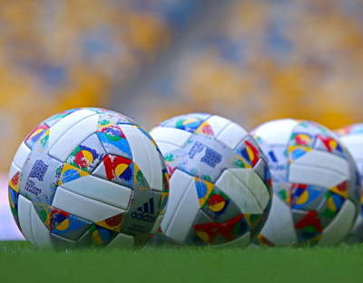 nations league footballs with logos