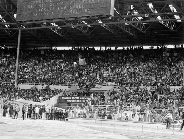 Old Wembley Stand